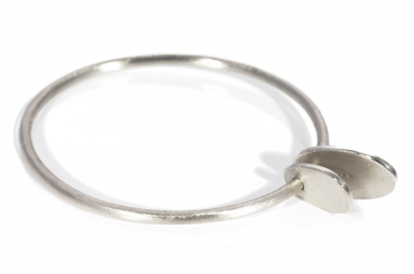 Chunky tag bangle available online soon!